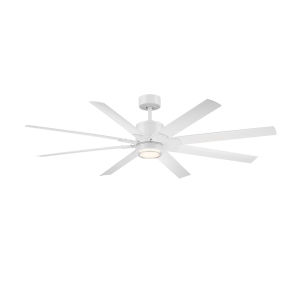 Renegade Matte White 52-Inch ADA LED Ceiling Fan, 2700K