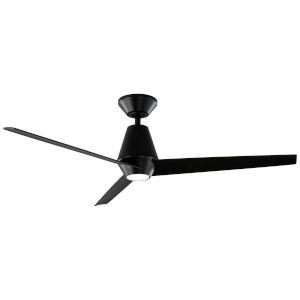 Slim Matte Black 52-Inch ADA LED Ceiling Fan