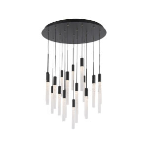 Magic Black 21-Light LED Pendant