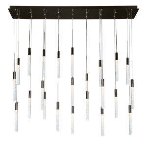 Magic Black 23-Light LED Pendant