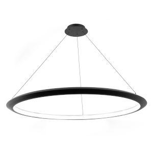 The Ring Black 48-Inch LED 3000K Chandelier