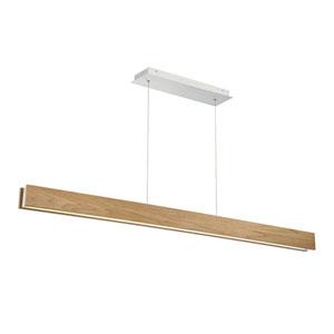 Drift Walnut 3-Inch LED Linear Pendant