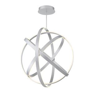 Kinetic Titanium 38-Inch LED Chandelier