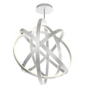Kinetic Titanium 60-Inch LED Chandelier