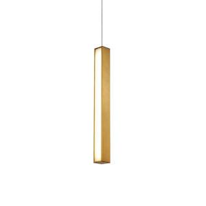 Chaos Aged Brass 26-Inch LED Mini Pendant