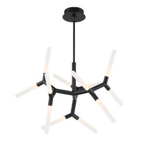 Isotope Black 12-Light  Chandelier
