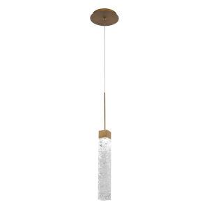 Minx Aged Brass LED Mini Pendant