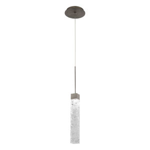 Minx Antique Nickel LED Mini Pendant