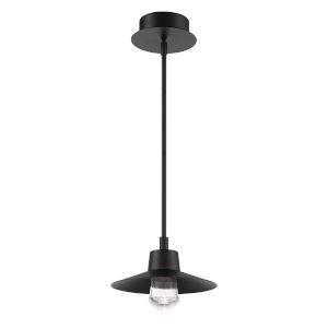 Suspense Black LED  Outdoor Pendant