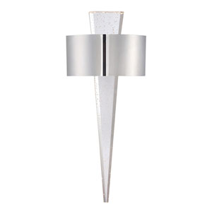 Palladian Polished Nickel 10-Inch LED Wall Sconce