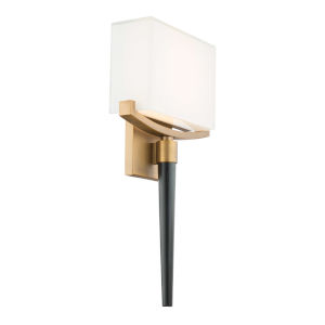 Muse Aged Brass LED ADA Wall Sconce