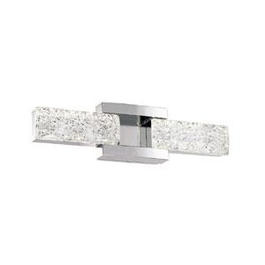 Sofia Polished Nickel 19-Inch LED Bath Light