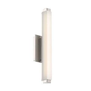 Mini Vogue Brushed Nickel 10W 3000K LED ADA Bath Bar