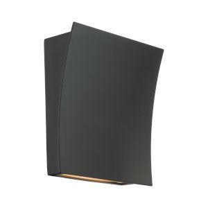 Slide Black Two-Light LED 3000K Wall Sconce