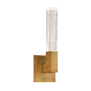 Cinema Aged Brass 6-Inch LED Wall Sconce