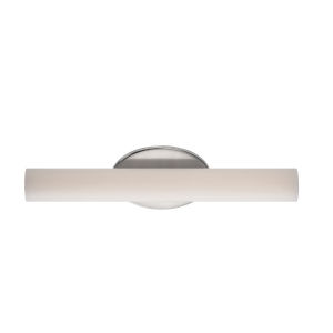 Loft Brushed Nickel 17W 3500K LED ADA Bath Bar