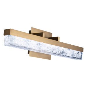 Minx Aged Brass 21-Inch LED Bath Vanity
