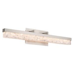 Minx Brushed Nickel 29-Inch LED Bath Vanity