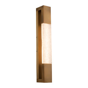 Ember Aged Brass LED ADA Wall Sconce