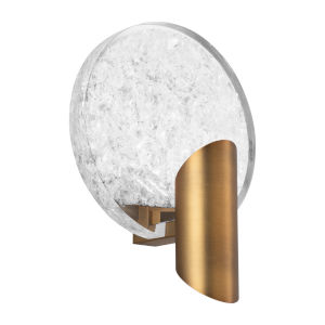 Oracle Aged Brass LED Wall Sconce