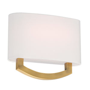 Arch Aged Brass 10W LED ADA Wall Sconce