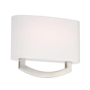 Arch Brushed Nickel LED ADA Wall Sconce