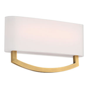 Arch Aged Brass 16W LED ADA Wall Sconce