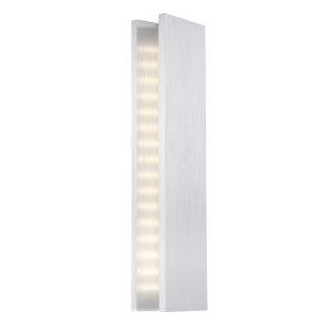 I-Beam Brushed Aluminum LED ADA Wall Sconce