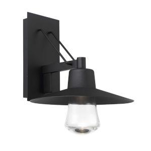 Suspense Black LED Outdoor Wall Light