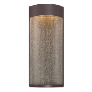 Rain Bronze 7-Inch LED Outdoor Wall Light