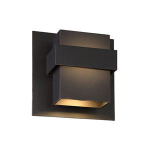 Pandora Oil Rubbed Bronze 9-Inch LED Outdoor Wall Light