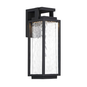 Black Eight-Inch LED ADA Outdoor Wall Light