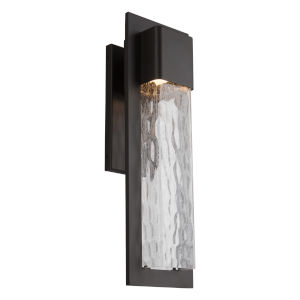 Mist Bronze 20-Inch LED Outdoor Wall Light