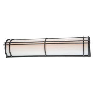 Skyscraper Bronze 37-Inch LED 2700K Outdoor Wall Light