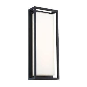 Framed Black 38W LED  Outdoor Wall Light