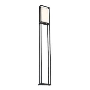 Framed Black Two-Light ADA Outdoor Wall Light