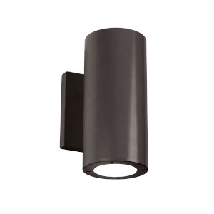 Vessel Bronze 4-Inch 2700K Two-Light ADA Outdoor Wall Light