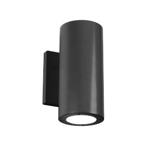 Vessel Black 4-Inch 4000K Two-Light ADA Outdoor Wall Light