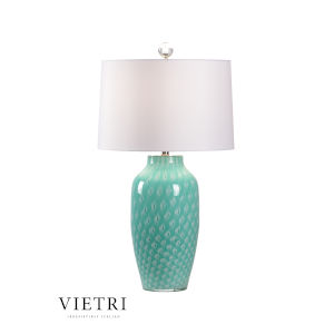 Antigua Mint Green and White One-Light Table Lamp