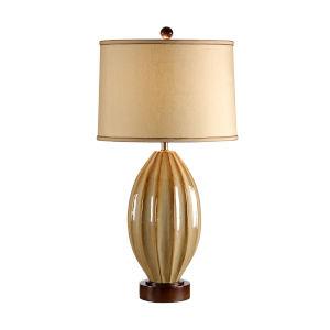 Tan One-Light 12-Inch Tatum Lamp