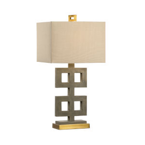Gold One-Light 9-Inch Ross Lamp