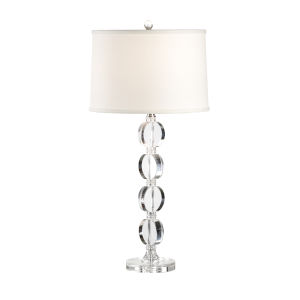 Silver One-Light 9-Inch Arden Lamp