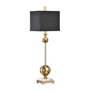Gold One-Light 11-Inch Opus Lamp