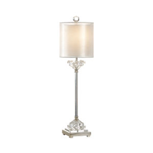 Silver One-Light 11-Inch Celine Lamp