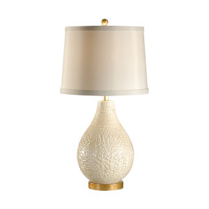 White One-Light 11-Inch Capri Lamp