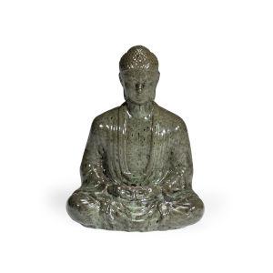 Gray 20-Inch Buddha