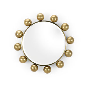 Gold 23-Inch Round-A-Bout Mirror