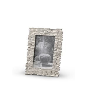 Silver Shingles 4 x 6 Inches Photo Frame