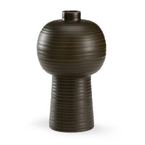Black 16-Inch Koota Vase