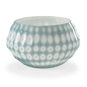 White and Blue 11-Inch Lunar Bowl